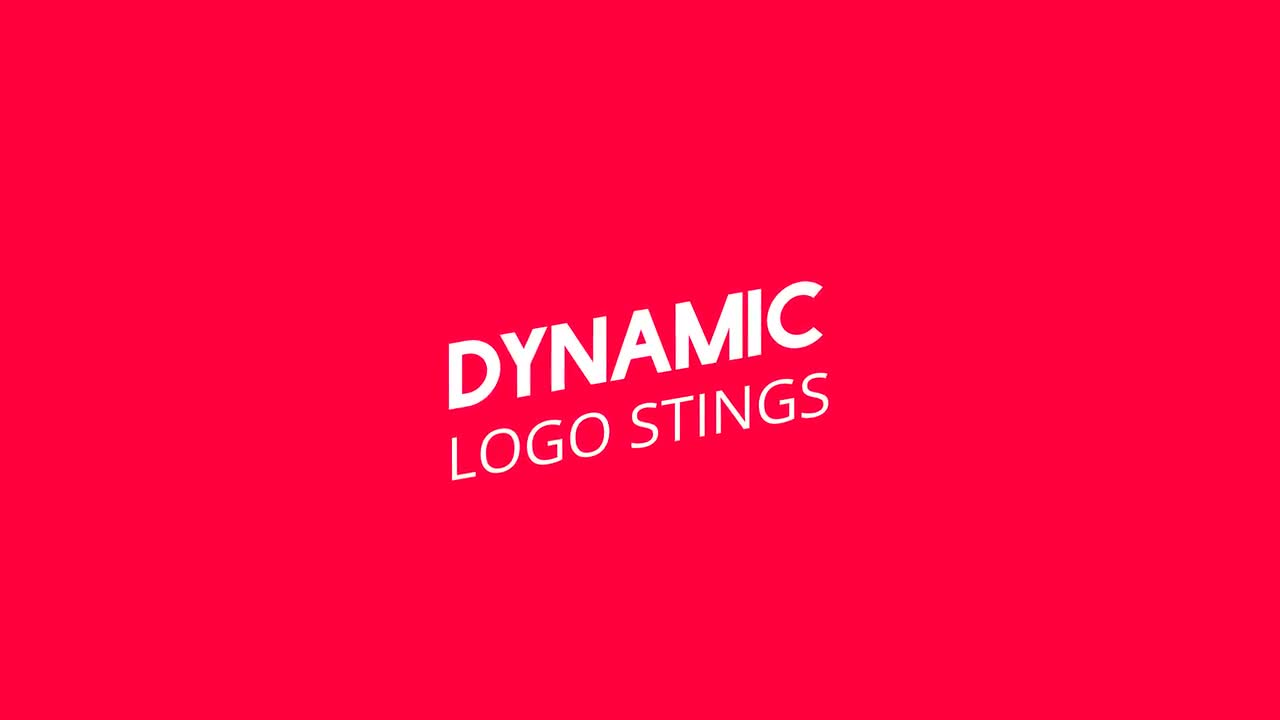Dynamic Logo Sting.