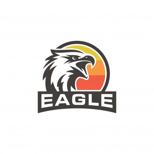 Creative eagle logo stock vector Vector.