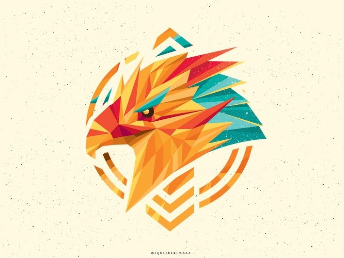 20 Creative Polygon Logo Style.