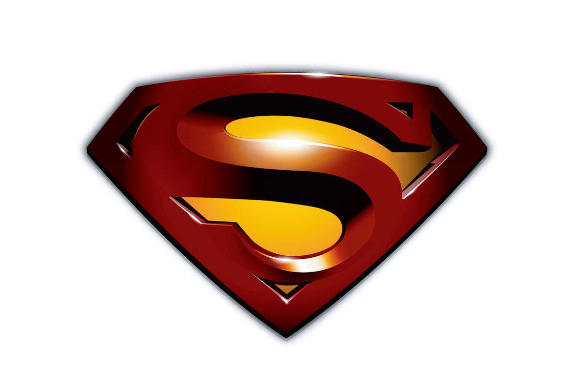 logo super homem clipart #3