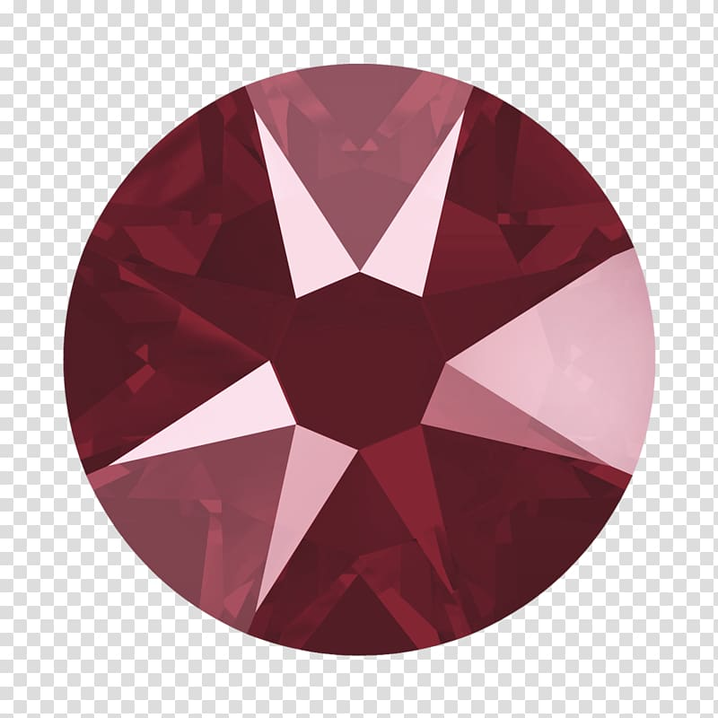 Imitation Gemstones & Rhinestones Red Swarovski AG Color.