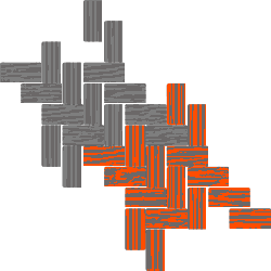 Twill Houndstooth Swatch Clipart Graphic.