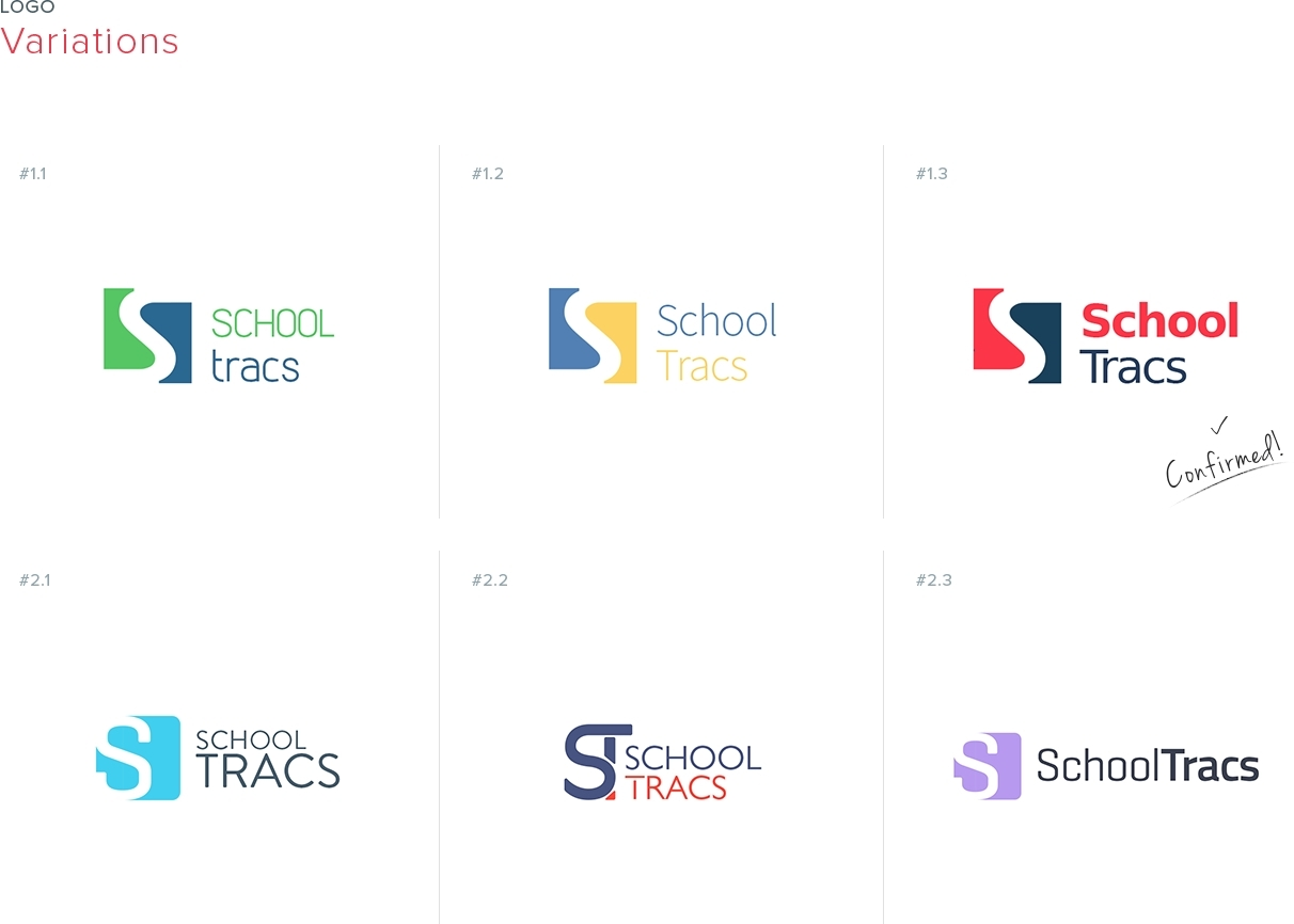 Logo Design and Brand Identity for school management web.