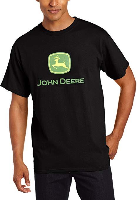 John Deere Men\'s Trademark Logo Core Ss Tee.