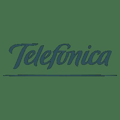 Telefonica Logo transparent PNG.