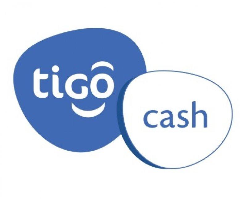 Tigo Cash logo.