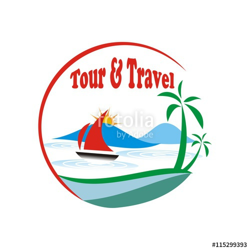 Travel and tour vector, logo, Design\
