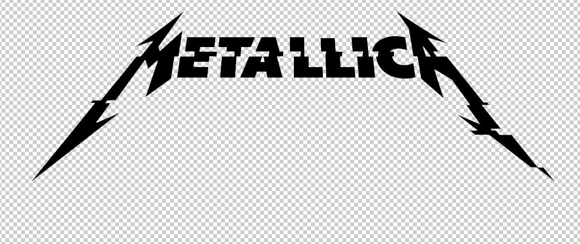 Metallica Hardwired Logo with Transparent Background.