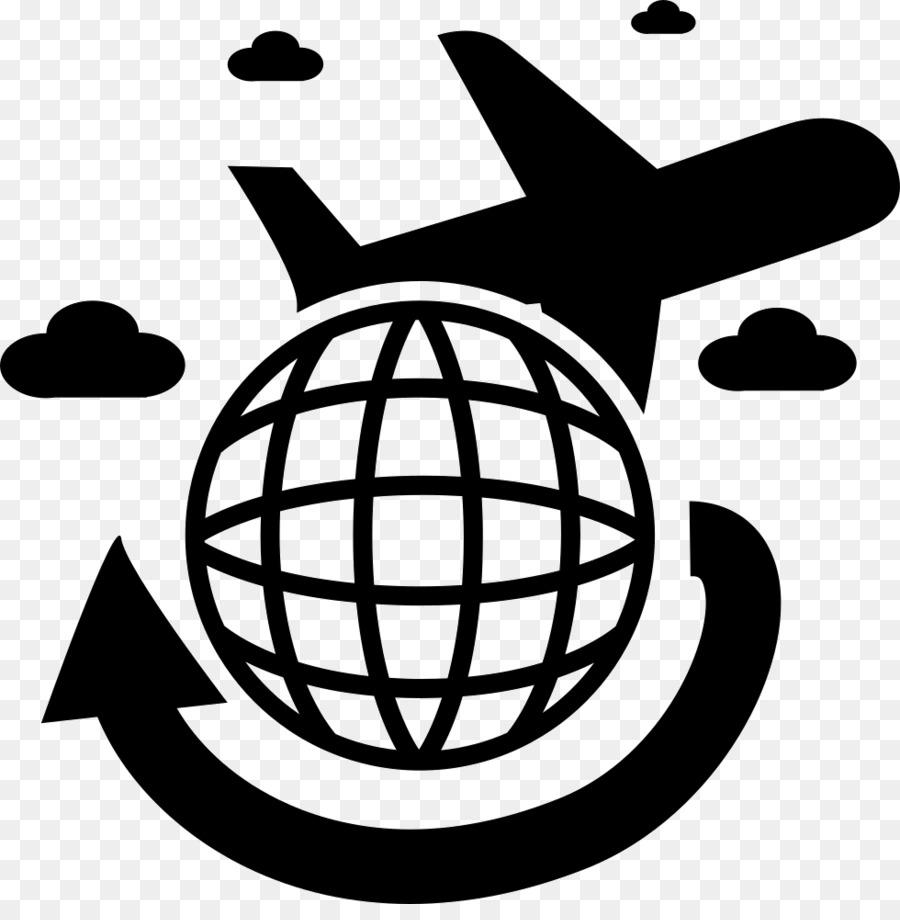 Travel Silhouette clipart.