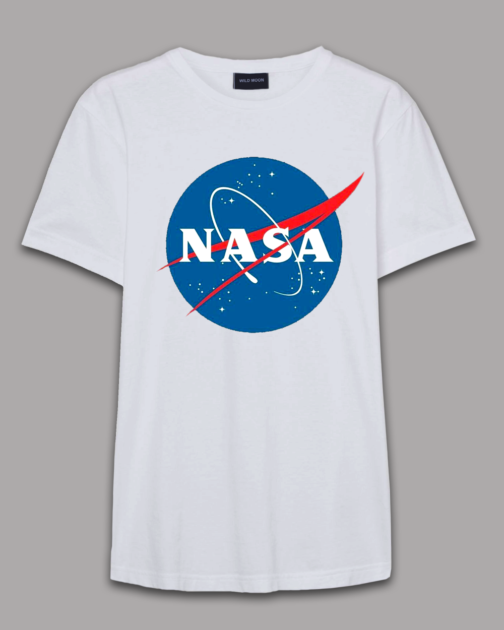 Men\'s and Women\'s Colorful Freestyle Nasa logo T.