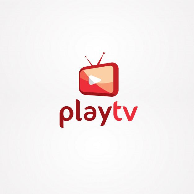 Play tv logo Vector.