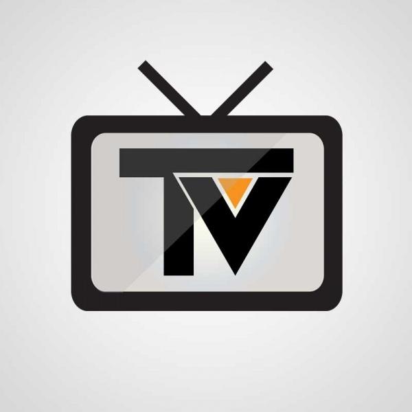 Online tv streaming logo Free vector in Adobe Illustrator ai.