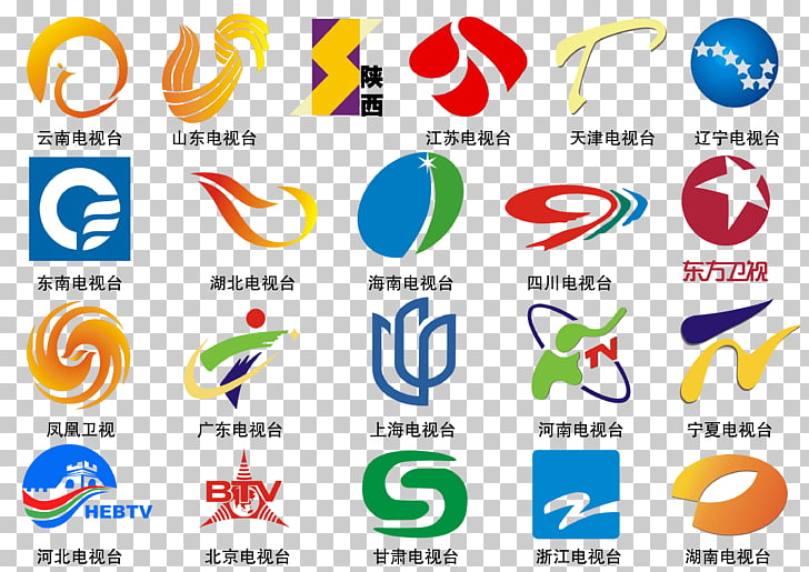 China Logo Television Channel, Each TV LOGO PNG clipart.