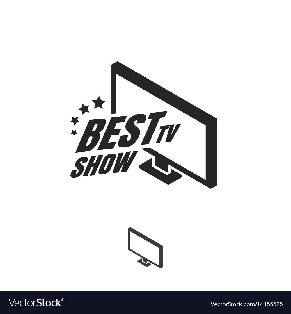 Tv show logo.