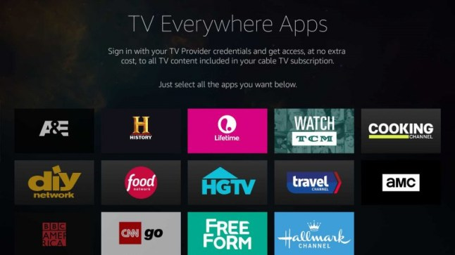Amazon Fire TV now supports Single Sign.