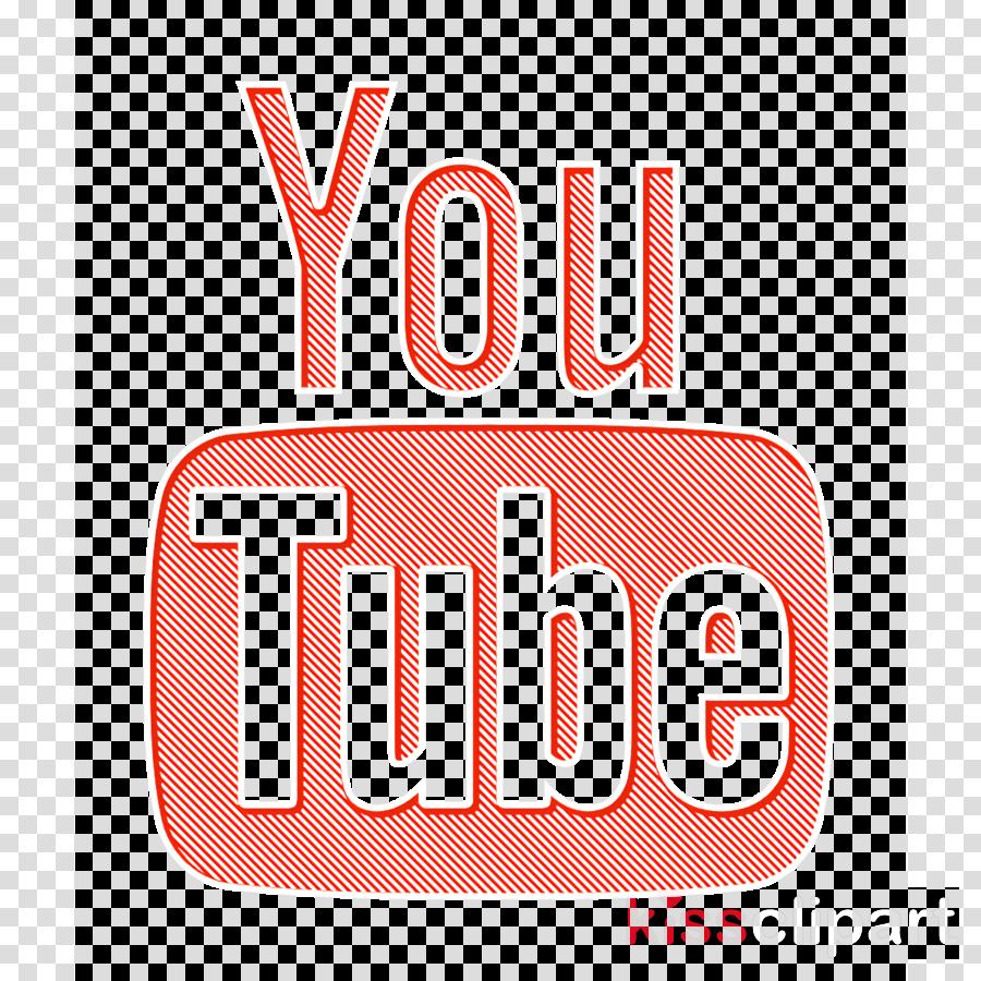 Youtube logotype icon Social Icons icon Youtube icon clipart.