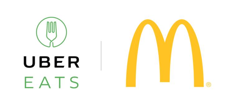 Ubereats Logos.