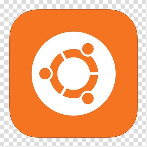 Orange and white logo, area text symbol point, MetroUI.