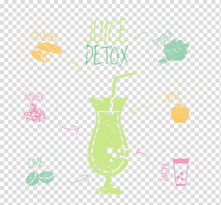 Juice Cafe Fruit, Juice elements transparent background PNG.