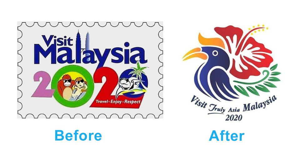 Malaysia gets a new \'Visit Malaysia 2020\' logo and it\'s way.