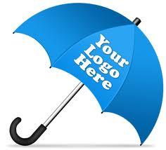 Promotional Logo Umbrellas Click Pictures.