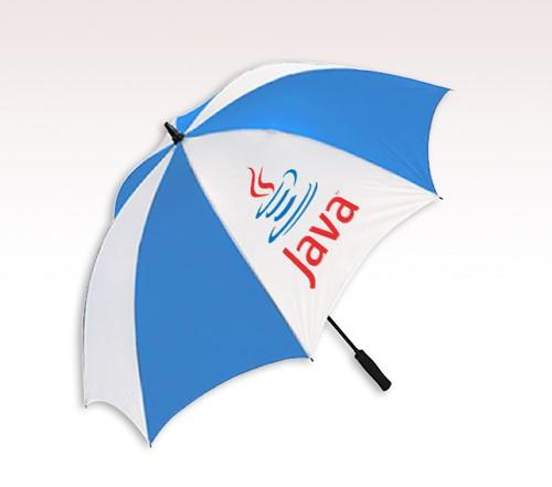 62\'\' Arc Golf Custom Logo Umbrellas w/ 5 Colors.