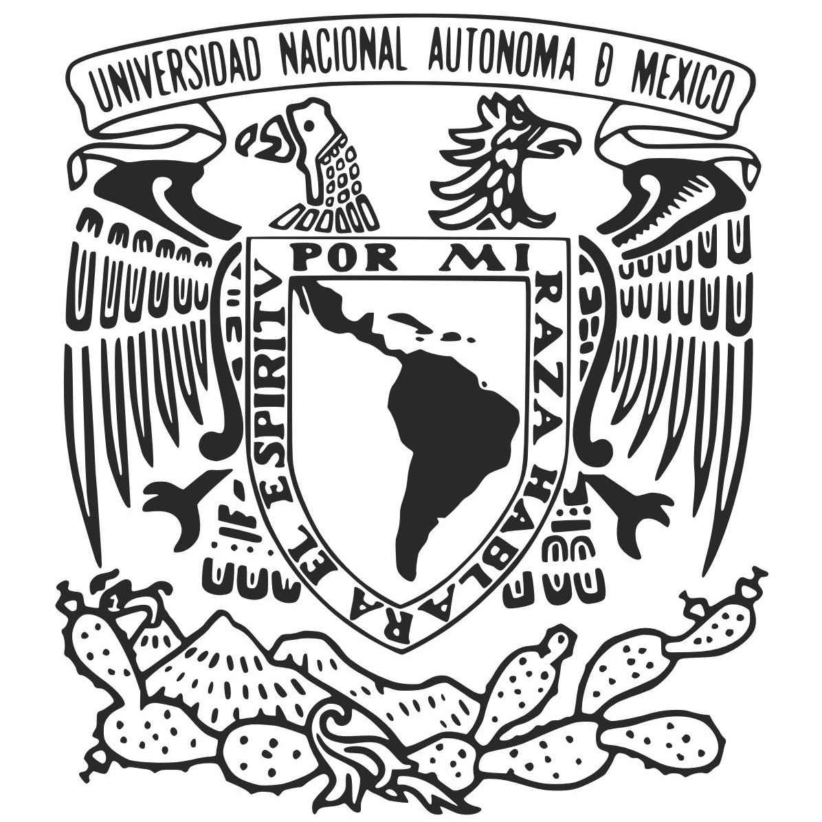 UNAM Logo [National Autonomous University of Mexico.