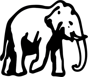 Elephant Logo Vector (.AI) Free Download.