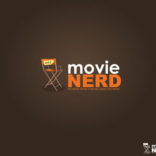 Website Logo for Movie Review Blog.