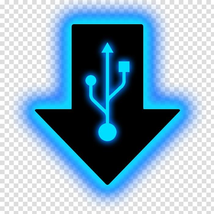 Illuminate , USB logo illustration transparent background.