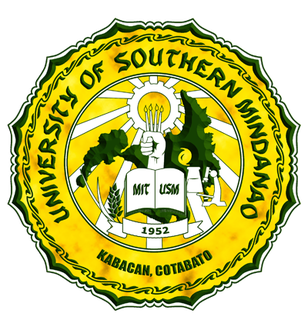 University of Southern Mindanao.