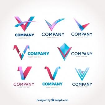 Logo V Vectors, Photos and PSD files.
