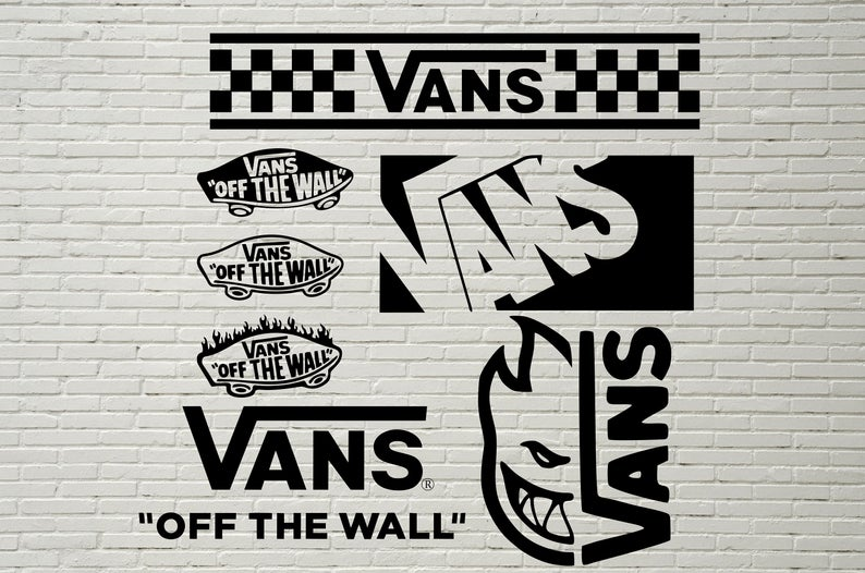 Vans svg Vans logo svg vans clipart Vans off the wall.