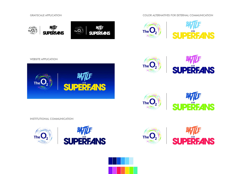 Logo variations.