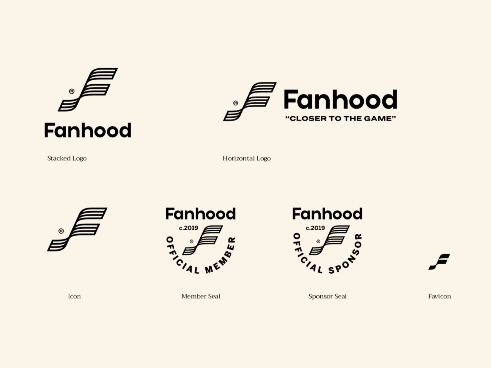 Fanhood Hoops Logo Variations by Wolf&Whale on Dribbble.
