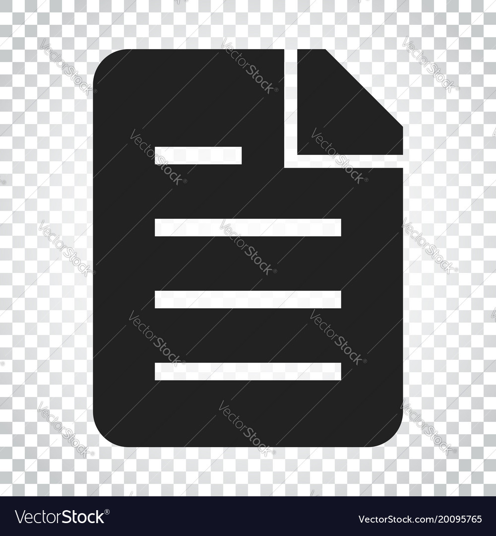 Document flat icon archive data file symbol logo.