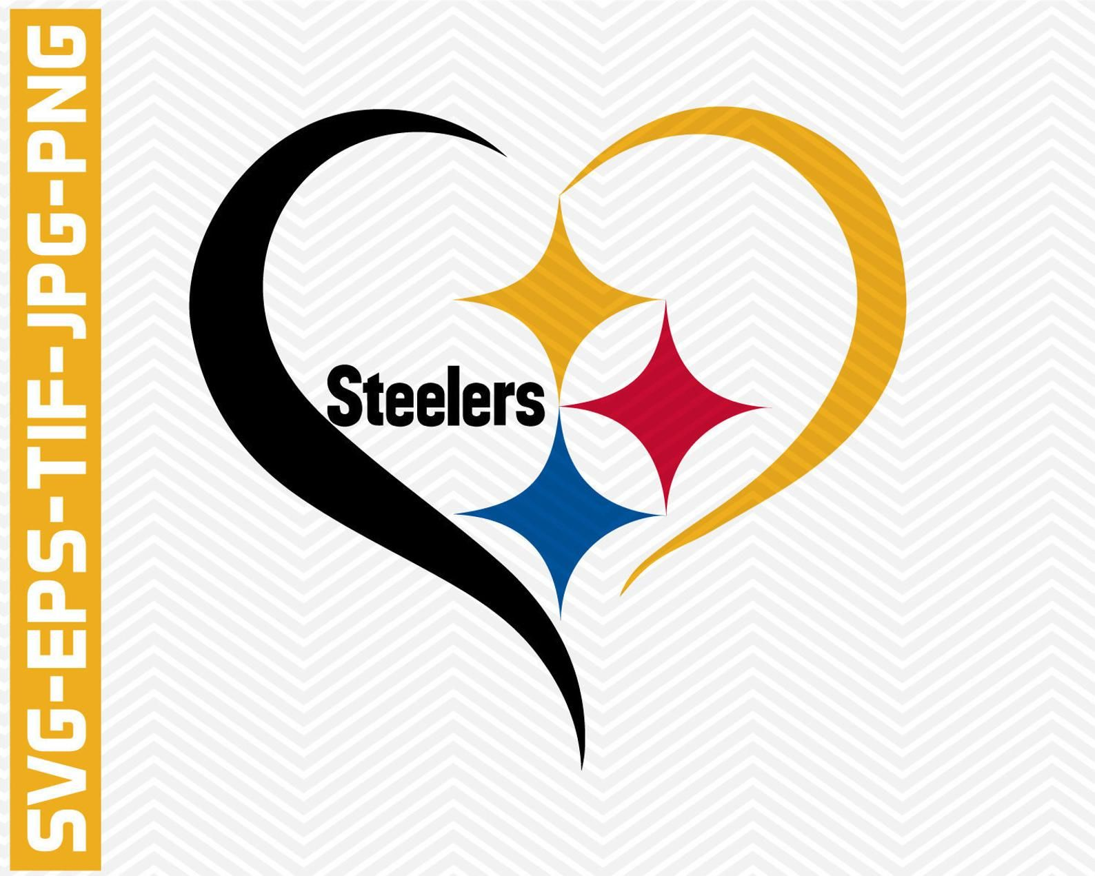 Pittsburgh Steelers svg,eps,tif,pdf,png,vector files,NFL svg.