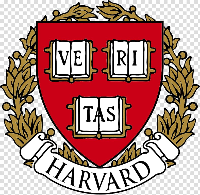 Veritas logo, Harvard Logo transparent background PNG.