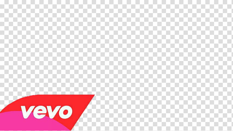 Vevo YouTube thumbnail transparent background PNG clipart.