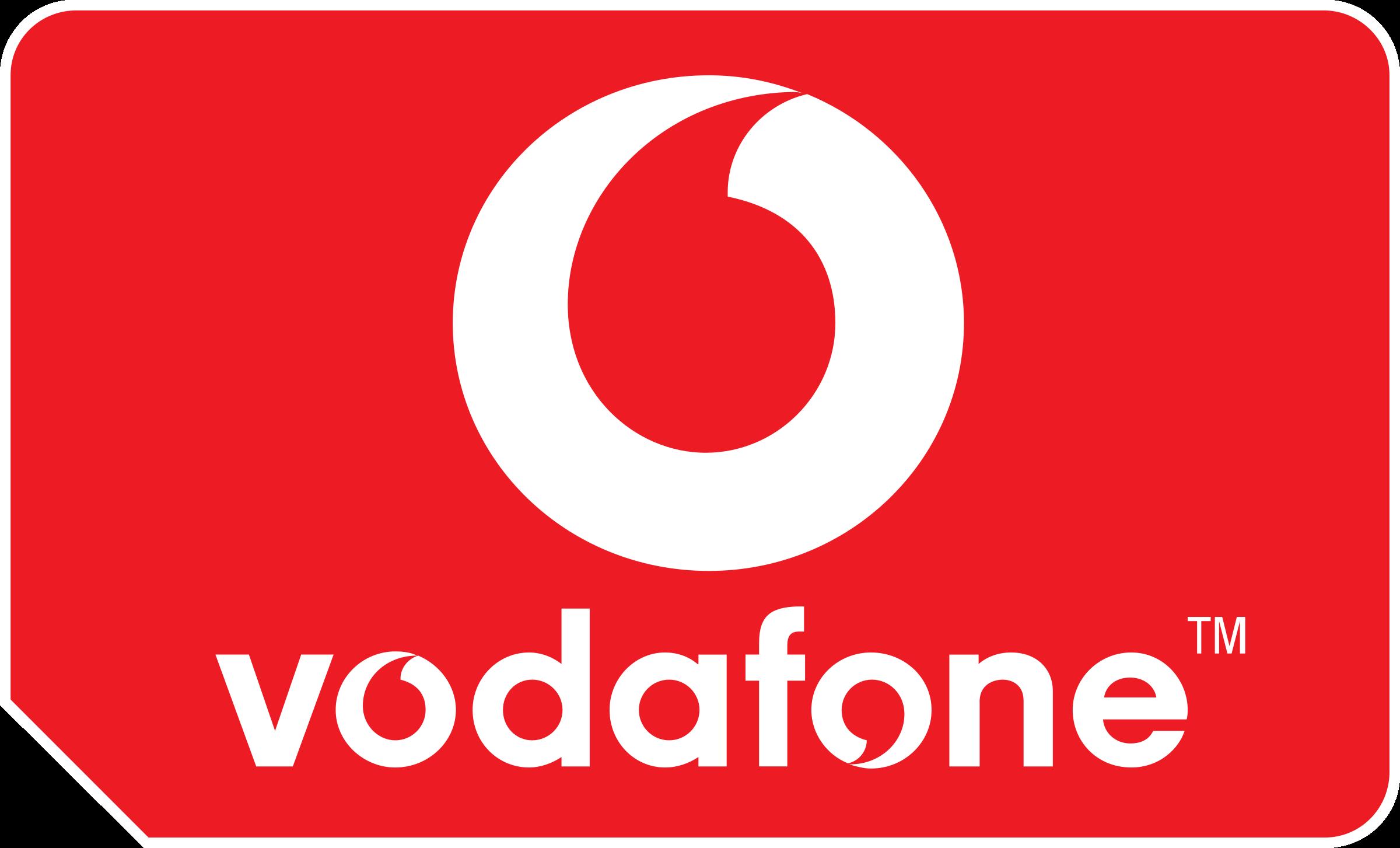 Vodafone SIM Logo PNG Transparent & SVG Vector.