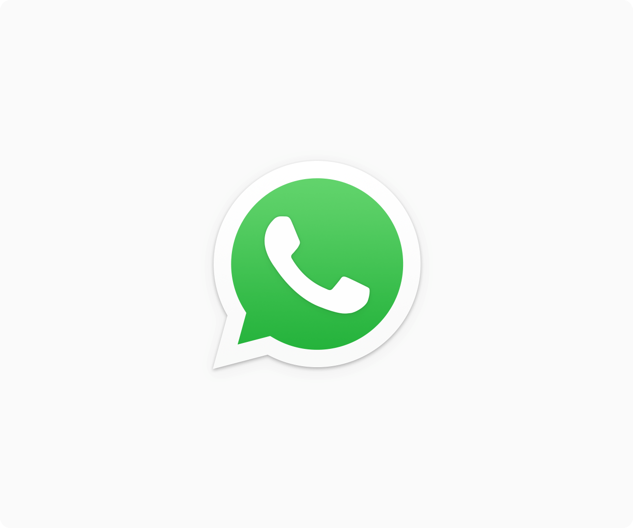 Logo do WhatsApp PNG [Fundo Transparente e com Fundo].
