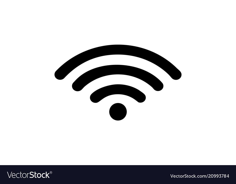 Wifi internet logo.