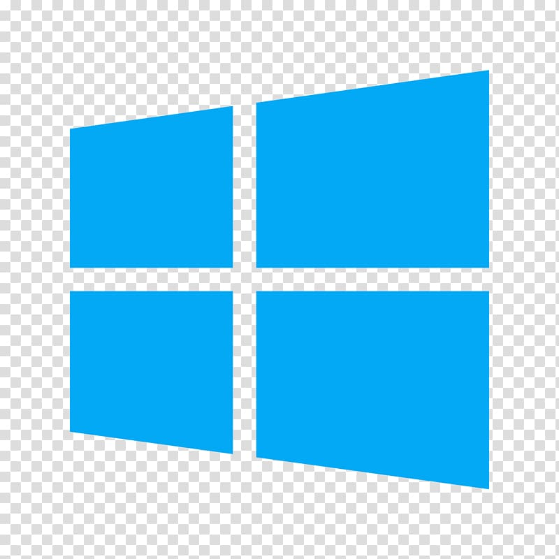 Logo Windows 8 Windows 7 Microsoft, 8 transparent background.