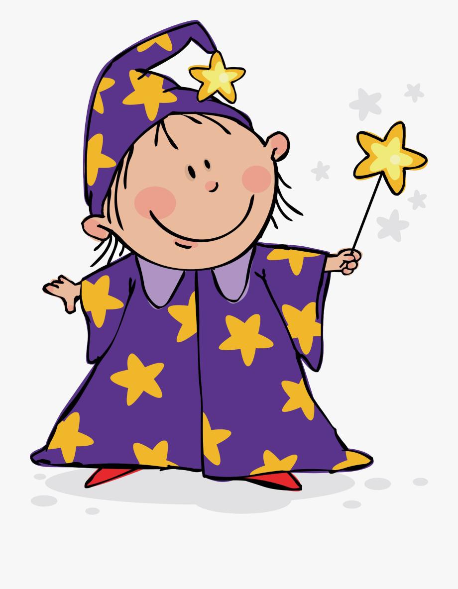 Kid Wizard Clipart , Transparent Cartoon, Free Cliparts.