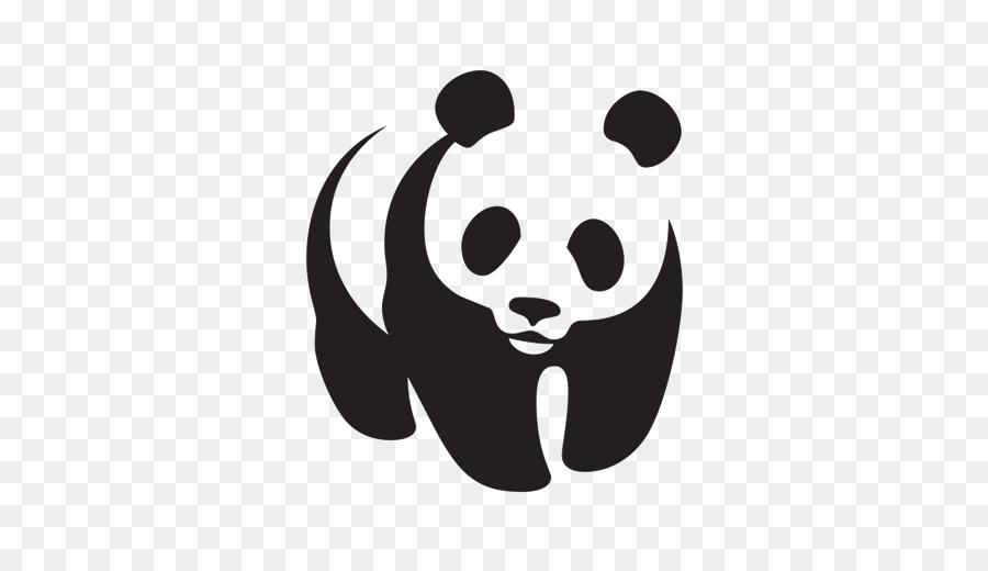 Panda Logo clipart.