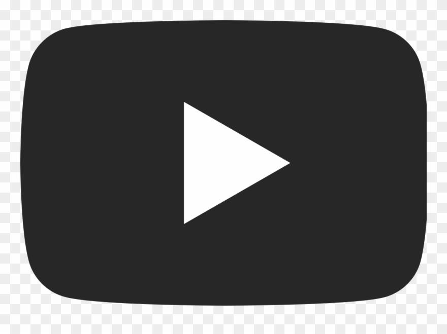 Youtube Logo Png Black Transparent Background.