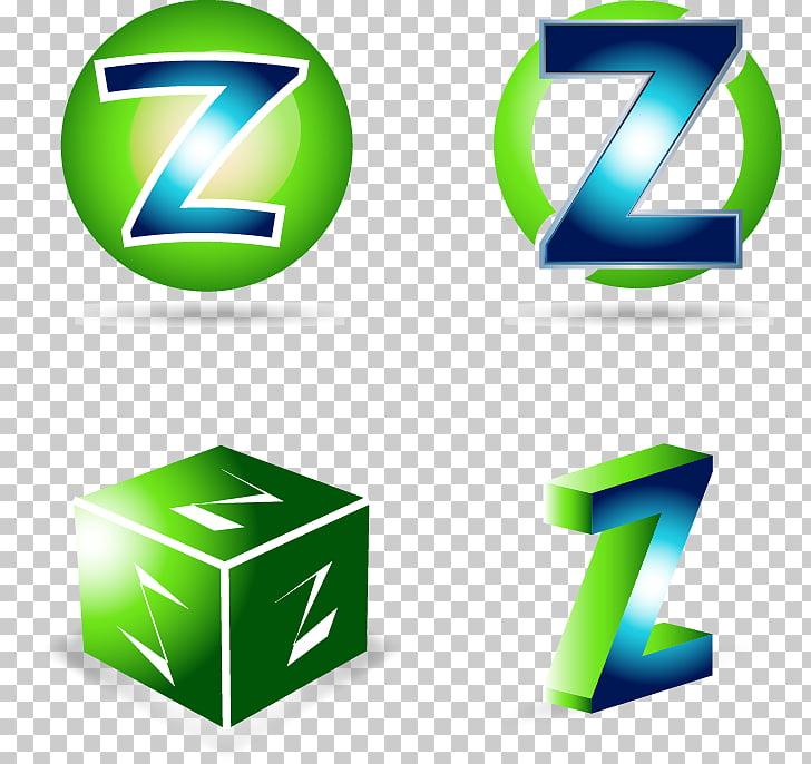 Logo Stock illustration Illustration, Painted green letter Z.