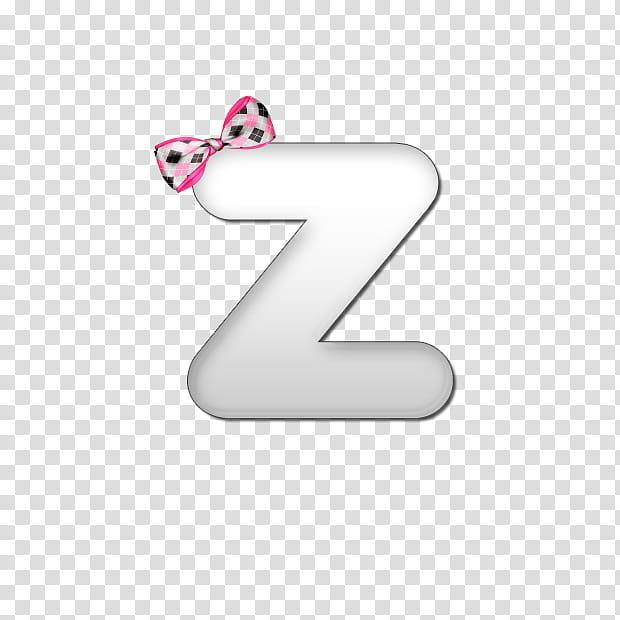 Bow Alphabet, Z logo transparent background PNG clipart.