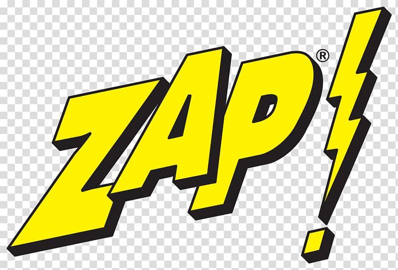 ZAP Logo Graphic design, comic transparent background PNG.