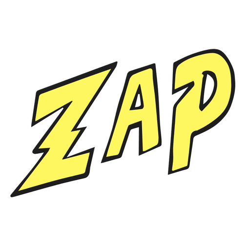 Zap illustration.